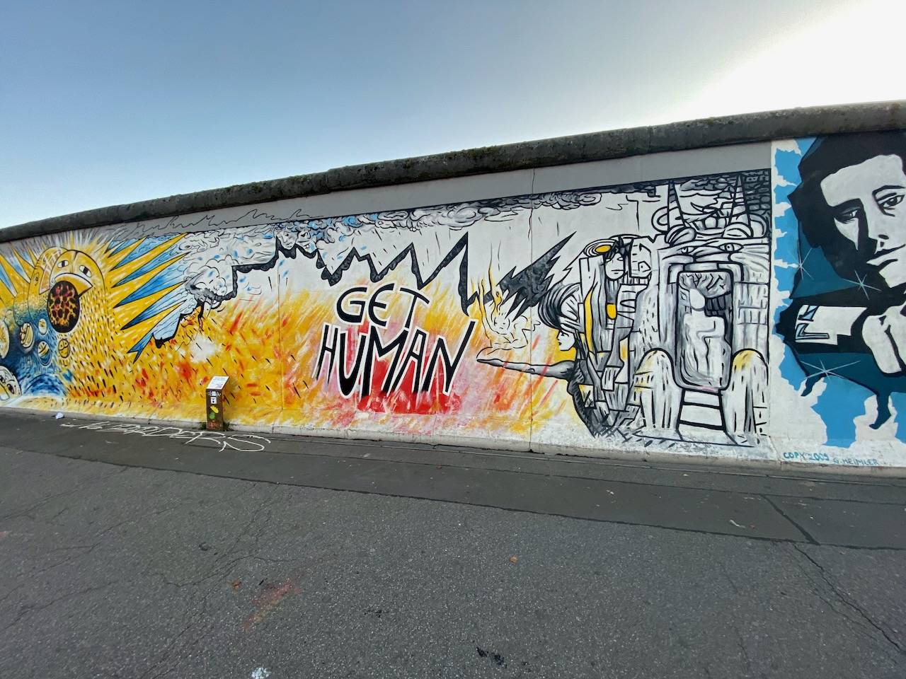 East Side Gallery (Berlin Wall)